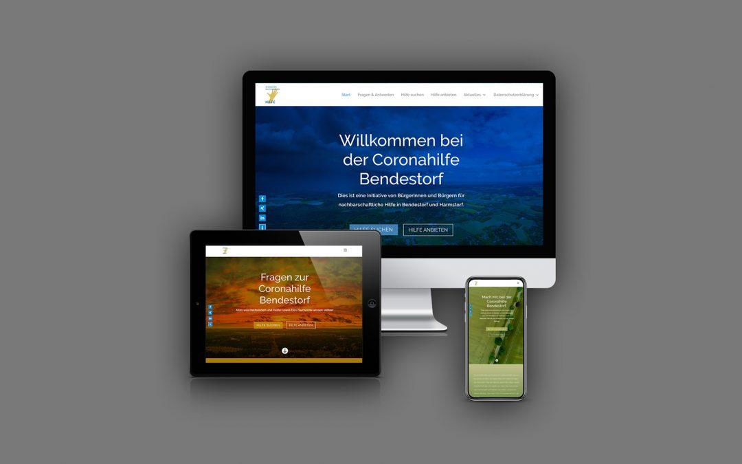 Webdesign für einen guten Zweck!