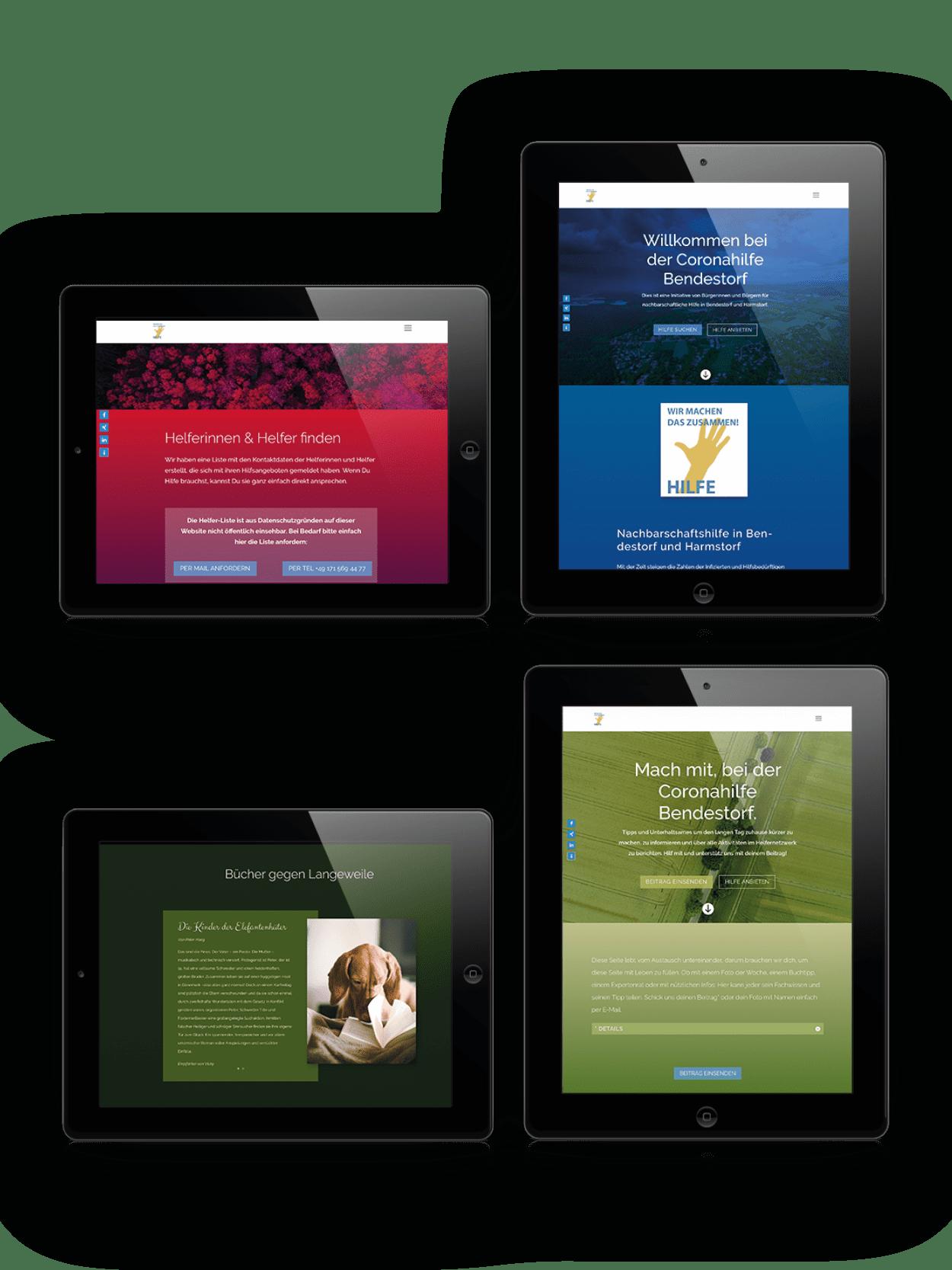 Website Coronahilfe
